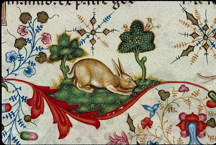 Bréviaire de Maria de Savoie, Lombardie, 1430 Chambéry, Bibliothèque municipale,(détail).