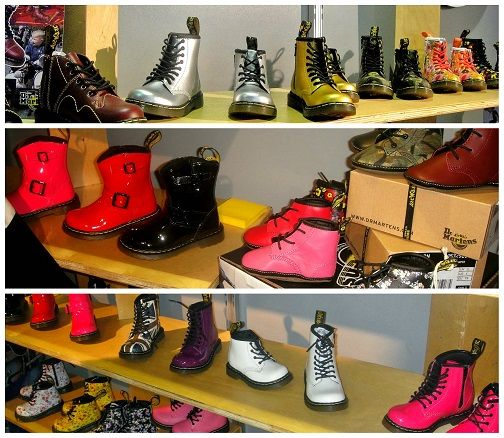 Dr.Martens Boots - Key Trends from January 2014 Edition of ENK Children's Club