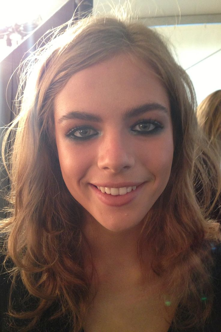 Easy, soft, beachy curls spotted at Topshop Unique #lfw #feelunique #hair #trend