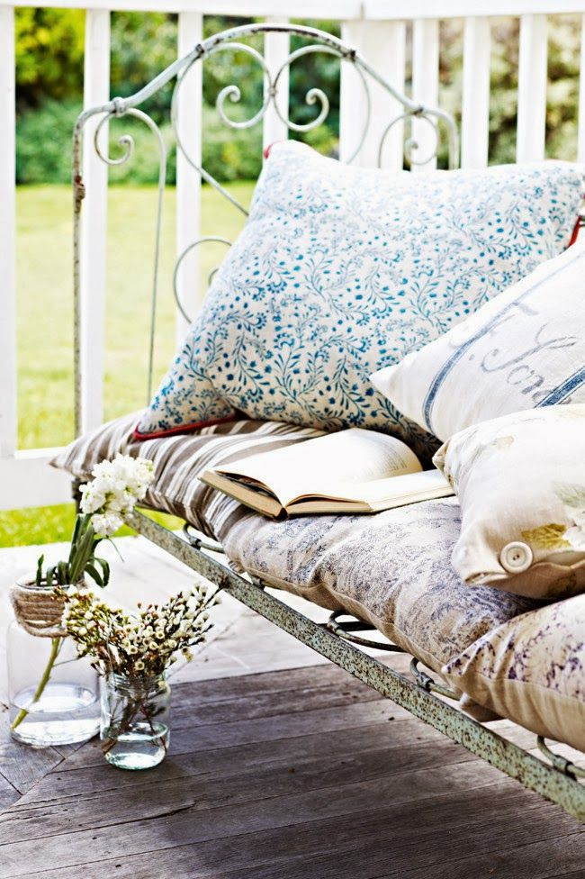 ♕ wonderful mix of cushions