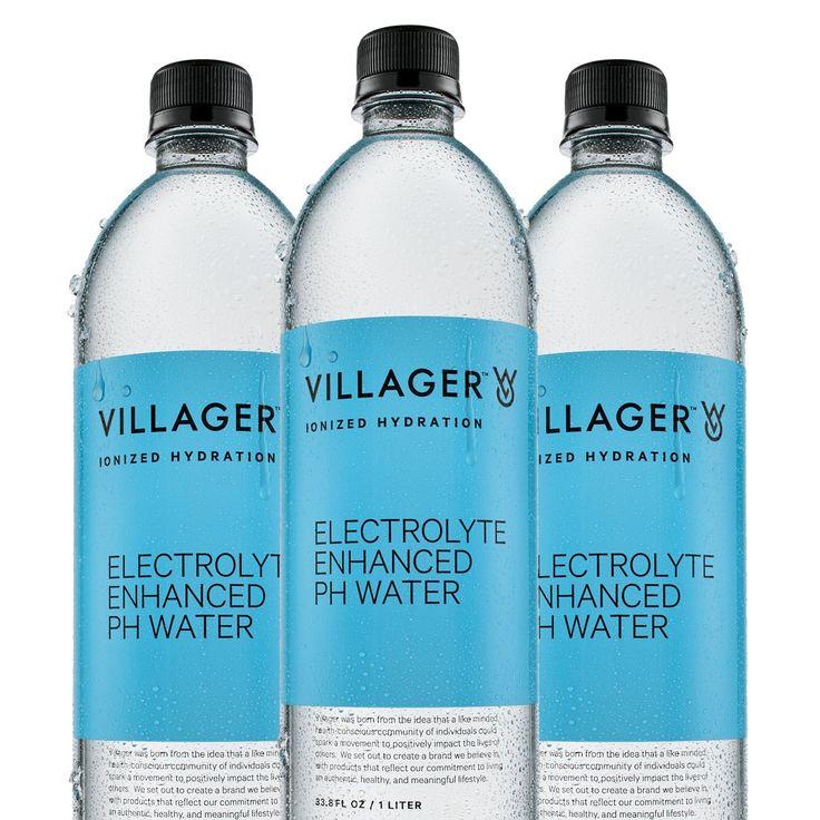 Villager Goods Ionized Alkaline 9.5 pH Bottled Water 1