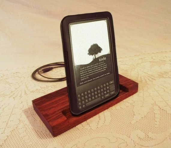 Kindle  Nook  eReader  Charger and Sync Station  Oak  by idockit, $42.00