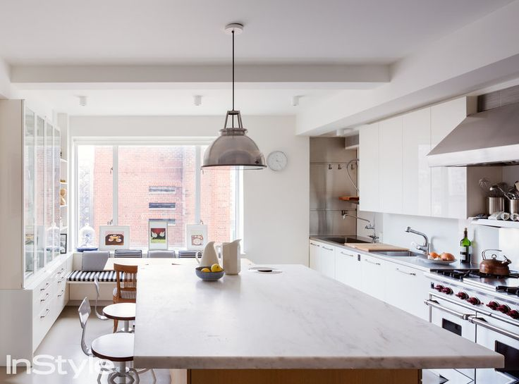 Peek Inside Isaac Mizrahi's 4,000-Square-Foot N.Y.C. Apartment - THE KITCHEN - from InStyle.com