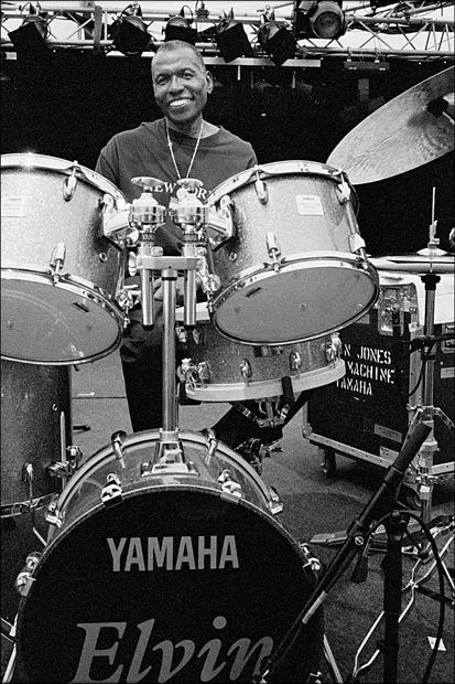 What a wonderful musician & human, Elvin Jones