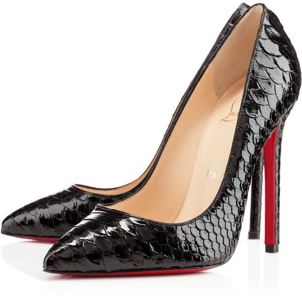 Christian Louboutin Pigalle found on Polyvore
