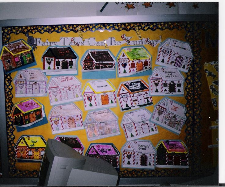 Beginning, middle end activity with Hansel and Gretel - Under gingerbread house in a flap book with beginnig, middle, end and alternative ending