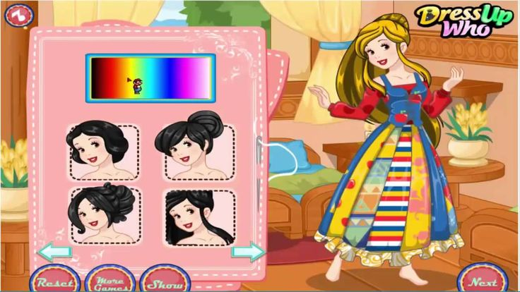 Disney Princess ♥ Snow White Patchwork Dress ♥ [Girl Games For Fee] [HD]