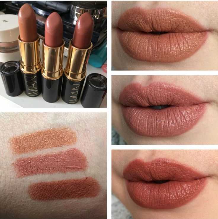 Iman Nude Baby Doll And Hipster Lipsticks Via