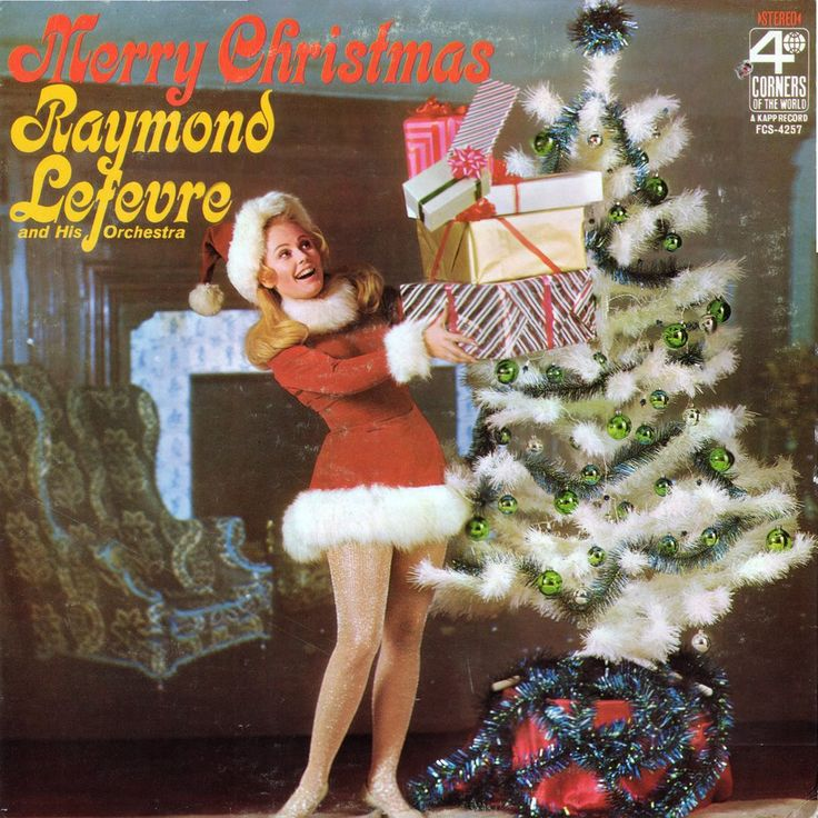 Merry Christmas Vintage record covers Pinterest