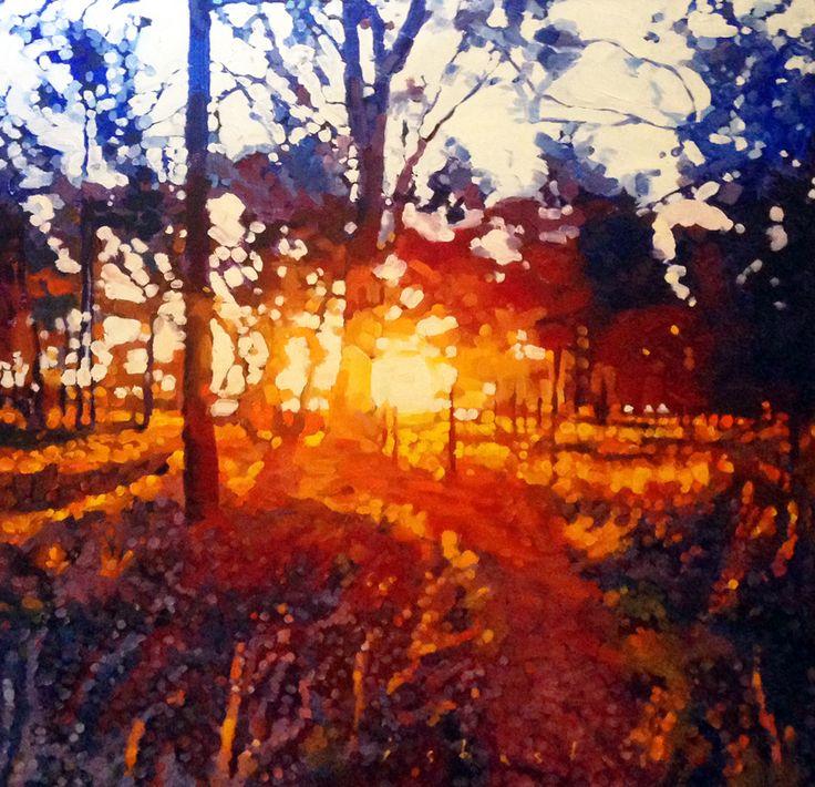 'Sunset Nyrang' by David Isbester