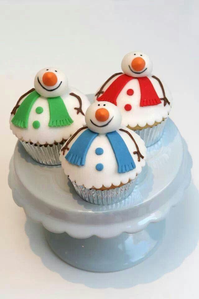 snowmen - adorable! Más
