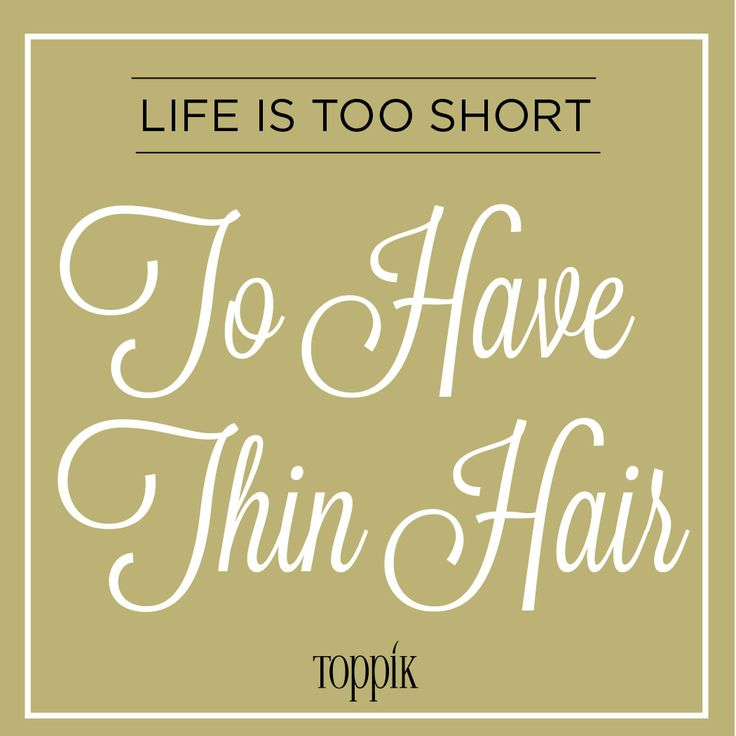 Get thicker-looking hair instantly with #Toppik products!