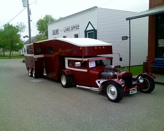 custom street rod with rv fifth wheel trailer very cool wwwhelpsellmyrvcom louisville kentucky campers pinterest rigs street rods and kentucky - Small 5th Wheel Trailers