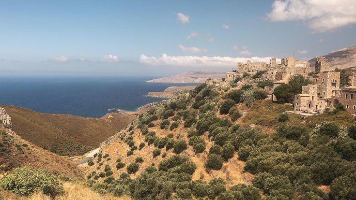 Vathia, medieval byzantine town