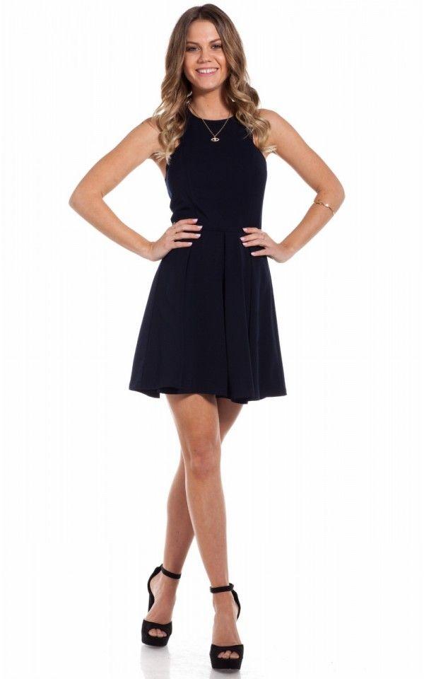 Mila dress in navy   SHOWPO Fashion Online Shopping