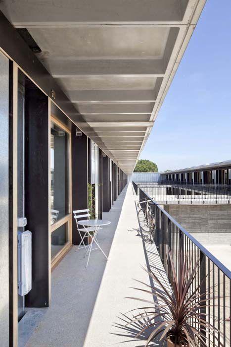 Residencia estudiantes Barcelona terrazas