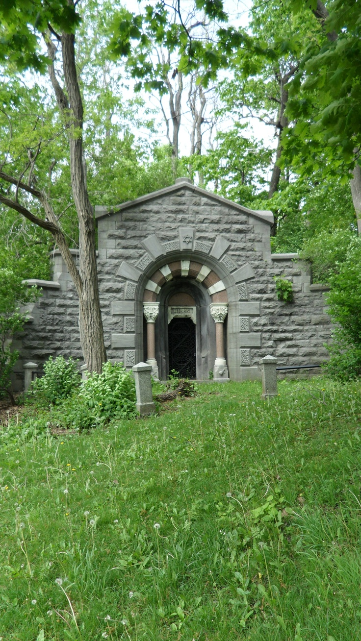 Crypt in Mount Royal Cemetery: Montreal, Quebec