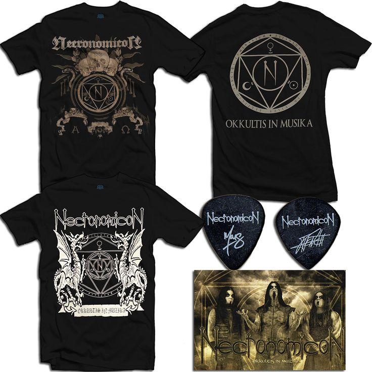 Necronomicon - Skulls & Dragons Bundle – Band-Brand