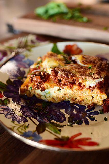 Lasagna Rollups - a great freezer meal