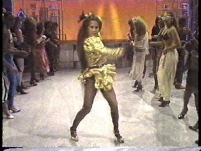 Cheryl Song dancing on Soul Train - definitely one of the most memorable cast members!