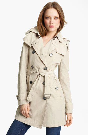 Burberry Brit Packable Trench | Nordstrom: Nordstrom Burberry, Trenchcoat Burberry, Burberry Brit, Burberry Trench, Houses Payment, Brit Packabl, Packabl Trench, Trench Coats, Old Jeans