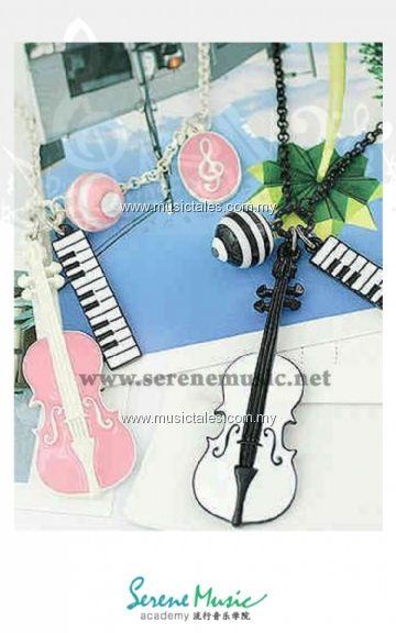 00021-Violin Necklace