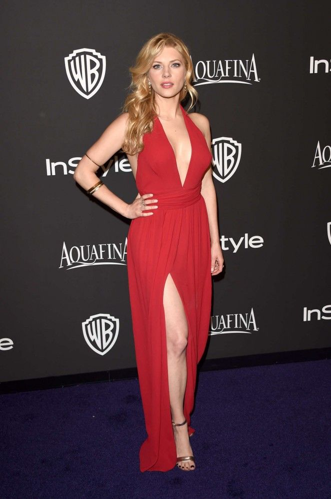 Katheryn Winnick - I HAD A VERY SIMILAR WHITE DRESS.