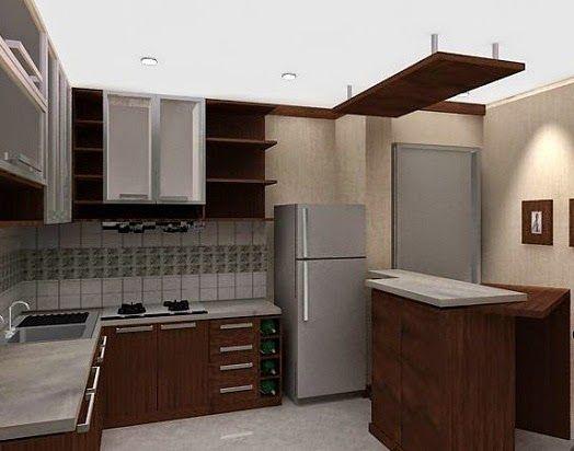 38 best desain rumah images on pinterest arquitetura for Model kitchen set minimalis modern