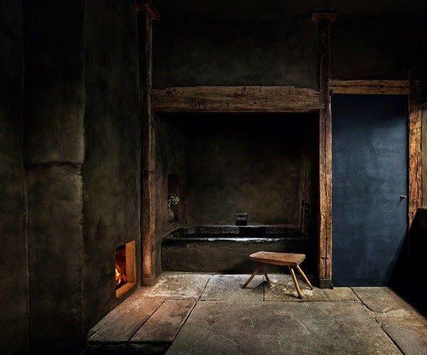 Black   Bathroom   Bath   Interiors