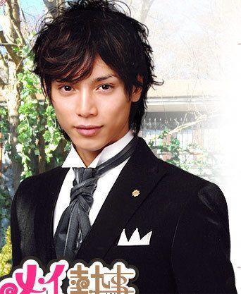 Hiro Mizushima as Rihito Shibata in Mei-chan no Shitsuji ...