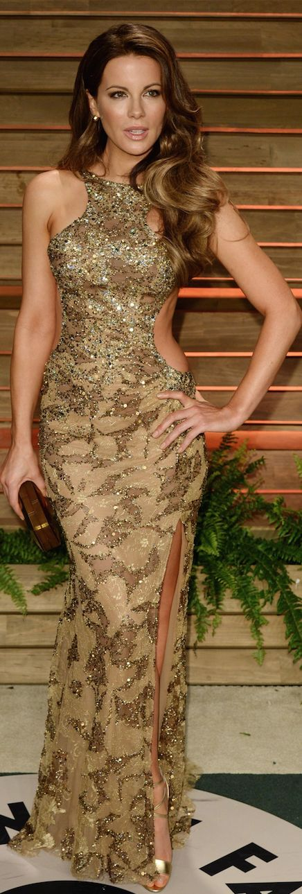 Oscar Award Winning Fashion 2014 - Kate Beckinsale in Elie Saab Couture