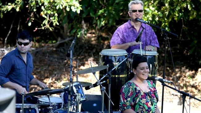 Latin Jazz Excursion playing at the Jazz on the Green at Palm Cove.