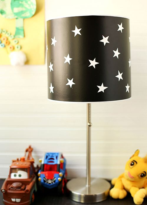 Use your creativity and transform boring ordinary lampshade into something extraordinary using only a simple tools which you have in your home.