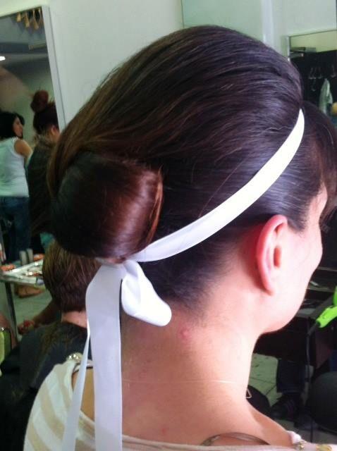 #romantic #bun #be2in #hair