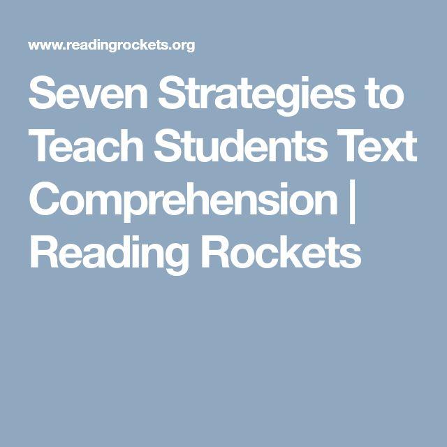 13 best comprehension images on Pinterest | Reading comprehension ...
