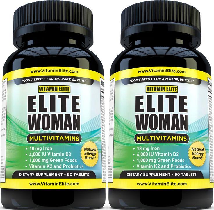 Elite Woman Multivitamins - 2 Pack