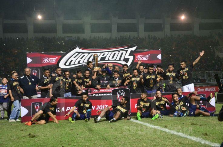 Arema FC Juara Piala Presiden 2017