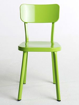 paige metal chair in lime green decor blue green. Black Bedroom Furniture Sets. Home Design Ideas