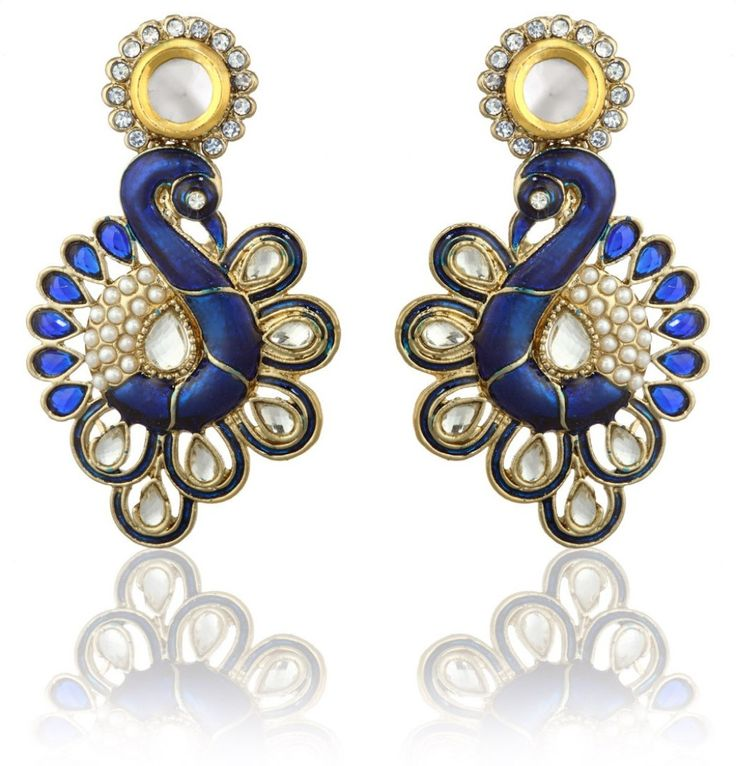 #BuyFromLink --> http://fkrt.it/0sUwLNNNNN Zaveri Pearls Diamond Alloy Chandelier #Earring #Indianfashion #Gorgeous #look #style  #Shop #Buy #online #india Chandelier earrings are a classic piece of jewellery that can enhance one's beauty and can be worn with different traditional outfits. If you are someone who loves chandelier earrings, then this pair from Zaveri Pearls could be an excellent way of accessorizing your outfit.