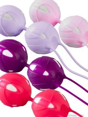 Smartball Teneo Duo von Fun Factory  Neu im Programm von FUN FACTORY, die zweite Generation SMARTBALLS: TENEO DUO sind die wahrscheinlich effektivste und angenehmste Form des Beckenbodenmuskel-Trainings mit Vaginalkugeln.