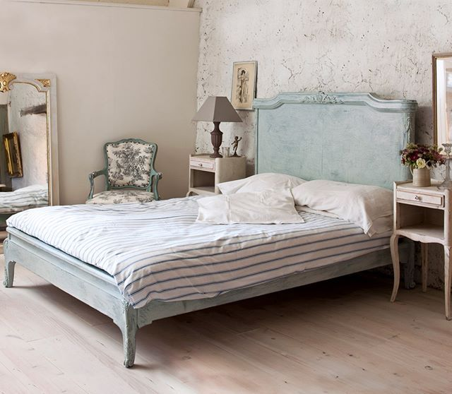 Chalk Paint Bed Frame Shabby Chic You'll Love ...