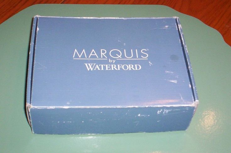 Waterford Crystal 5x7 Wedding Picture Frame Never Used