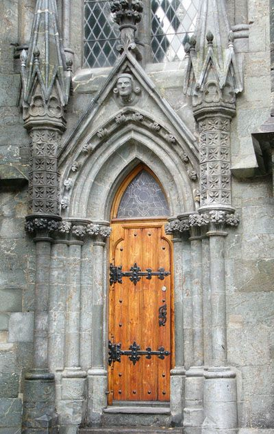 Stavanger Cathedral, Norway's oldest, 1125 A.D. - maintains original form and has been in continual use since Middle Ages.