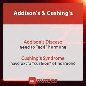 Addison's Disease vs. Cushing's Syndrome