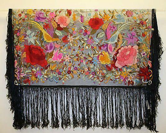 Isn't this a gorgeous silk shawl?