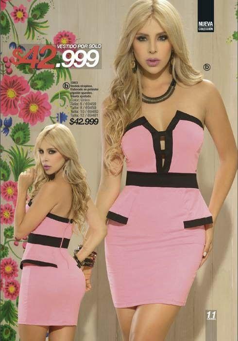 #Vestido Strapless de Carmel Campaña -16-14