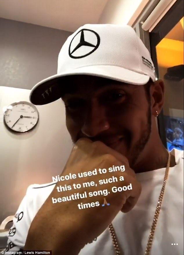 Lewis Hamilton pines for ex-girlfriend Nicole Scherzinger #dailymail