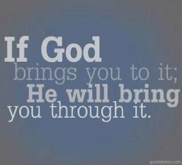 God is our strength through these hard times away from one another!