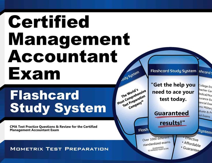Certified Management Accountant Exam Flashcard Study System: CMA Test Practice Questions & Review for the Certified Managemen...