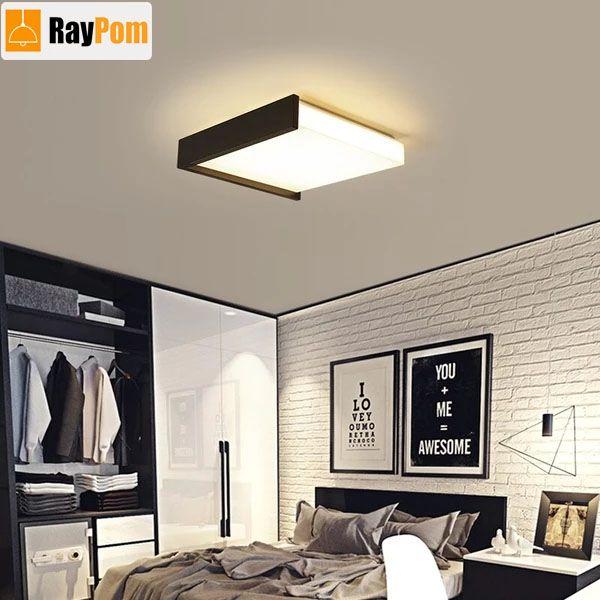 Aluminum Wave Ceiling Lights Modern Led Lamp For Living Room Bedroom Ceiling Lights Wood Ceiling Lamp Modern Ceiling Light